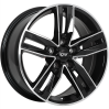 DAI Wheels Classic Gloss Black - Machined Face