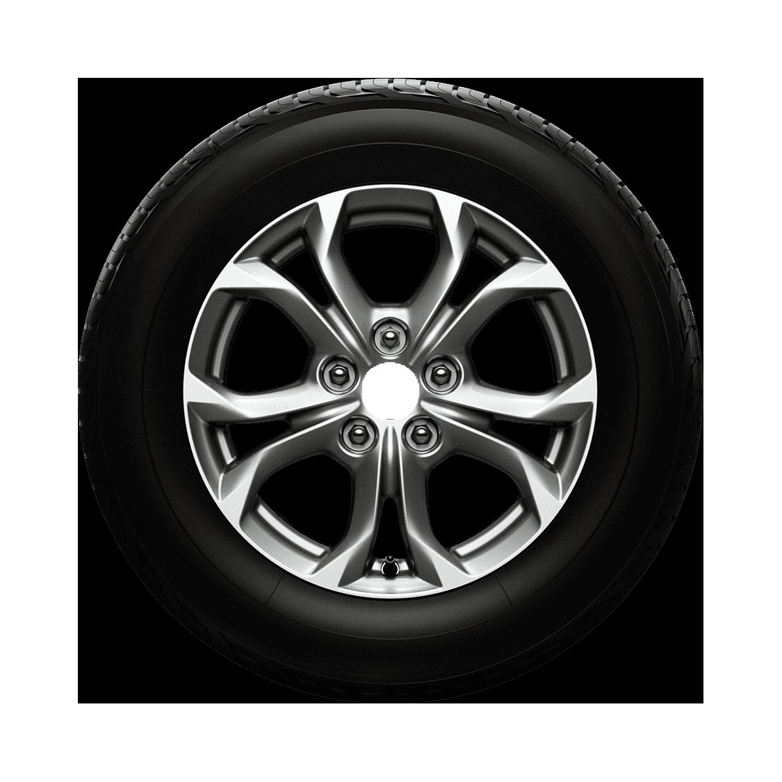 DAI Wheels Classic Gunmetal Reflex